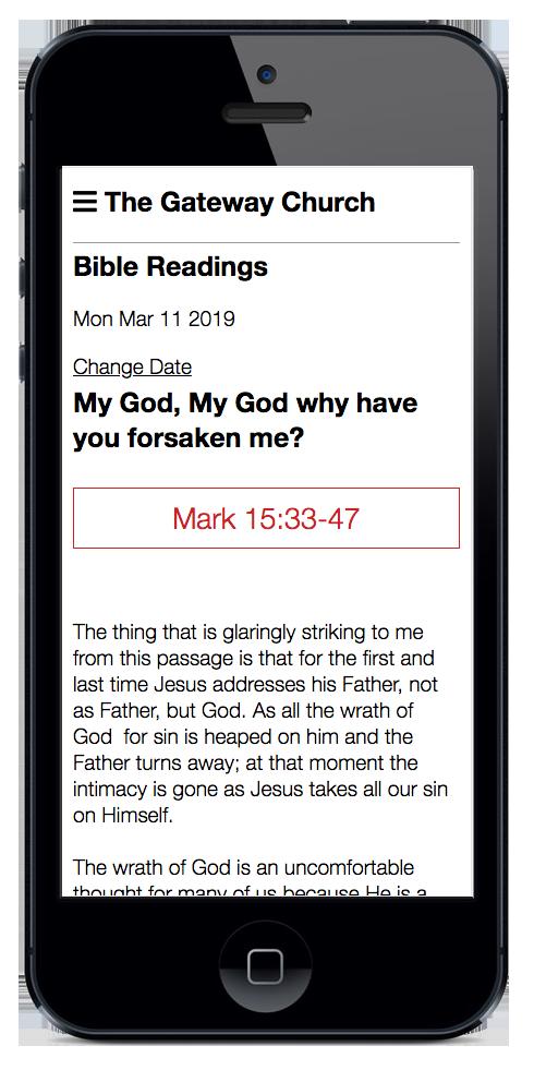 Bible Reading App
