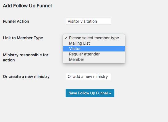 add a follow up funnel